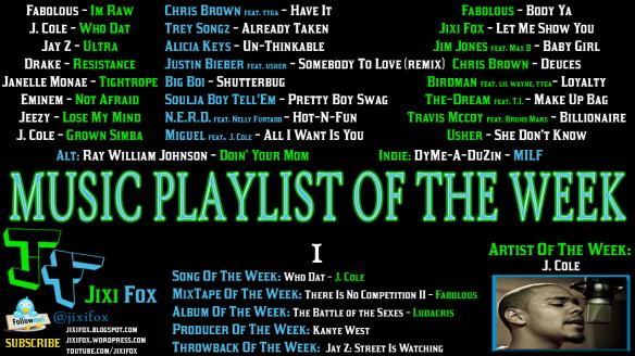 Jixi-Fox-Music-Playlist-of-the-Week-1