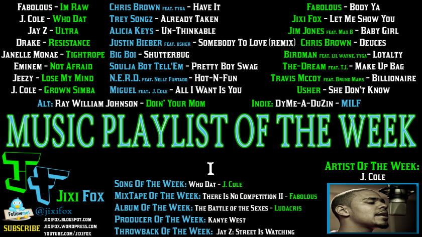 Jixi-Fox-Music-Playlist-of-the-Week-1