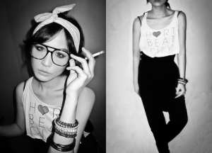 nerdy girl