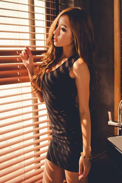 black silk sexy lingerie women sexiest fashion beauty 4