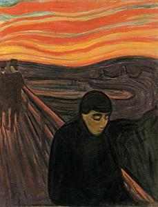 Despair - Edvard Munch Gallery - Anxiety Pain