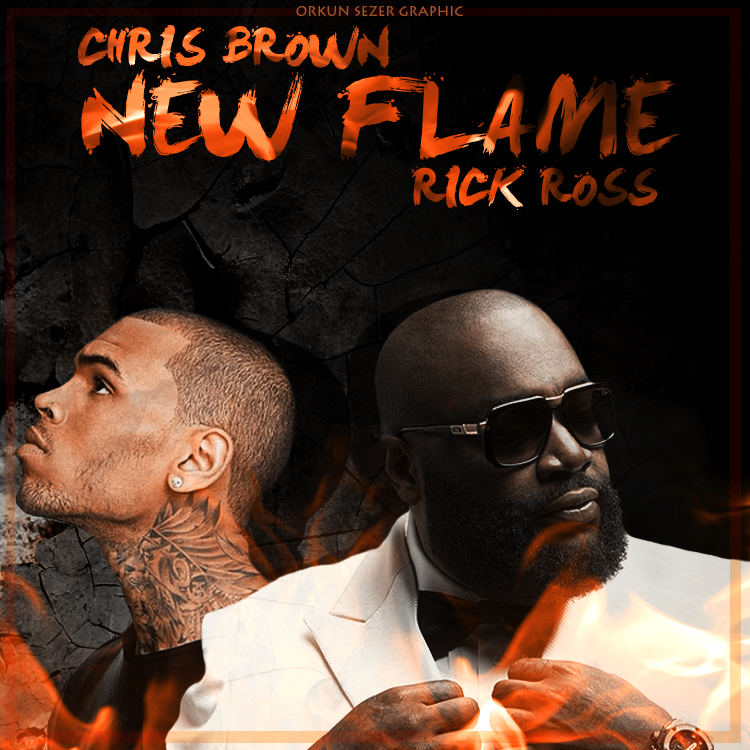 chris brown - new flame
