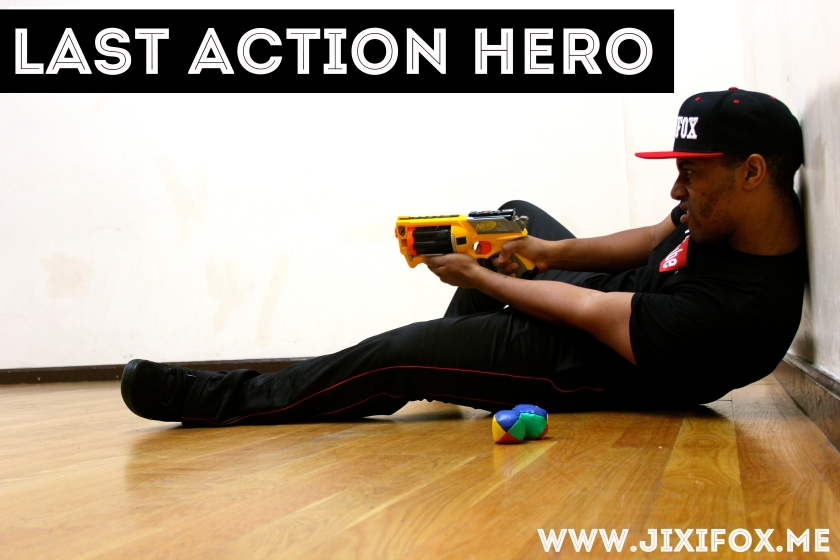 Jixi Fox - Last Action Hero - Photography Art