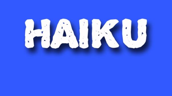haiku poetry - jixi fox - free verse spoken word nyc poem - blue