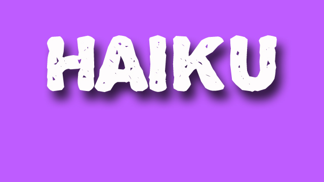 haiku poetry - jixi fox - free verse spoken word nyc poem - purple