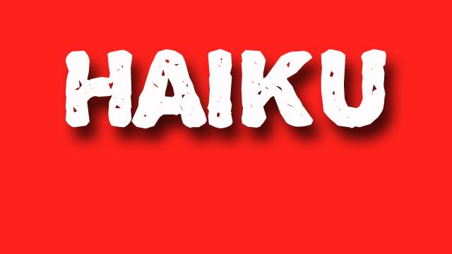 haiku poetry - jixi fox - free verse spoken word nyc poem - red