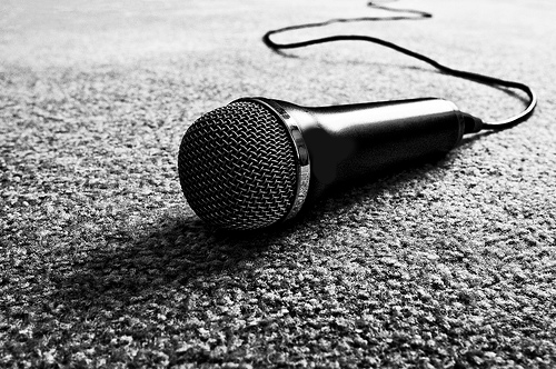 black-and-white-mic