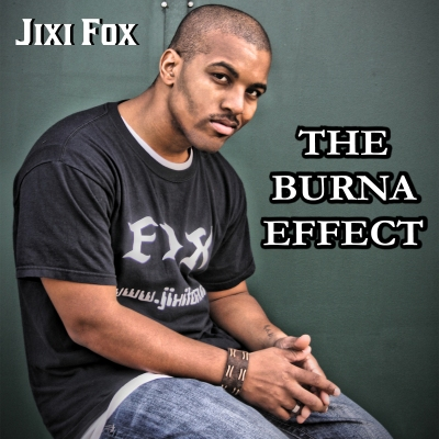 Jixi Fox - The Burna Effect - Album Cover Artwork - jixifox - poetry art spoken word