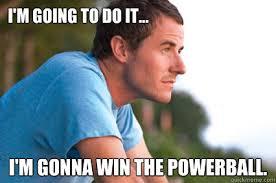 funny meme comedy - powerball