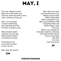 Poetic Tongues - Chester Maynes - Jixi Fox - Poetry Art - Page 2 - May I