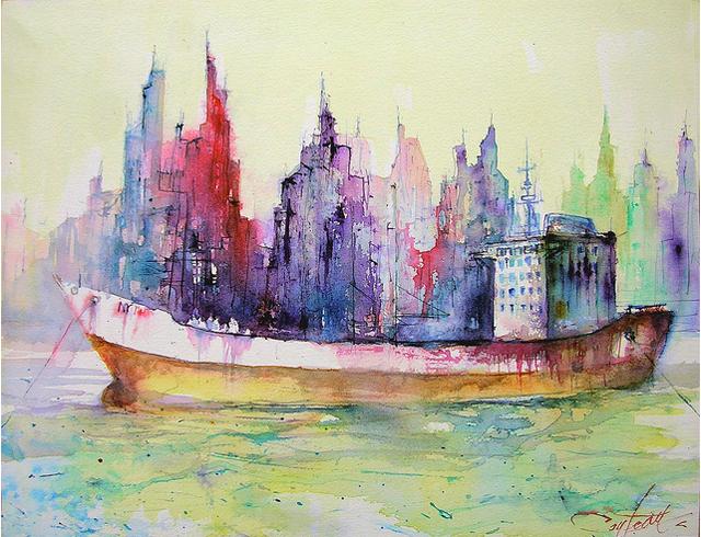 water - travel art