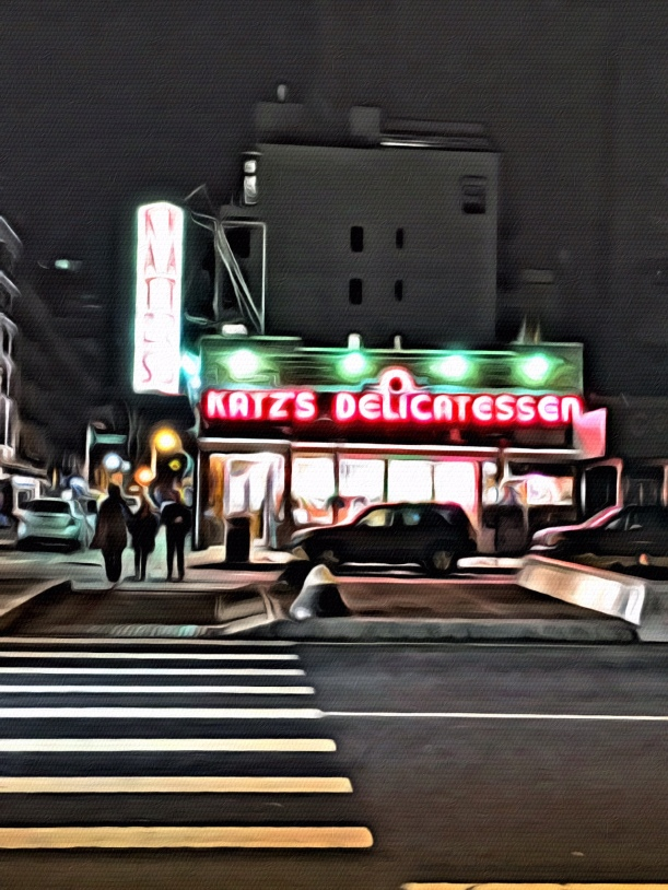Art in New York - Katz Delicatessen by Jixi Fox