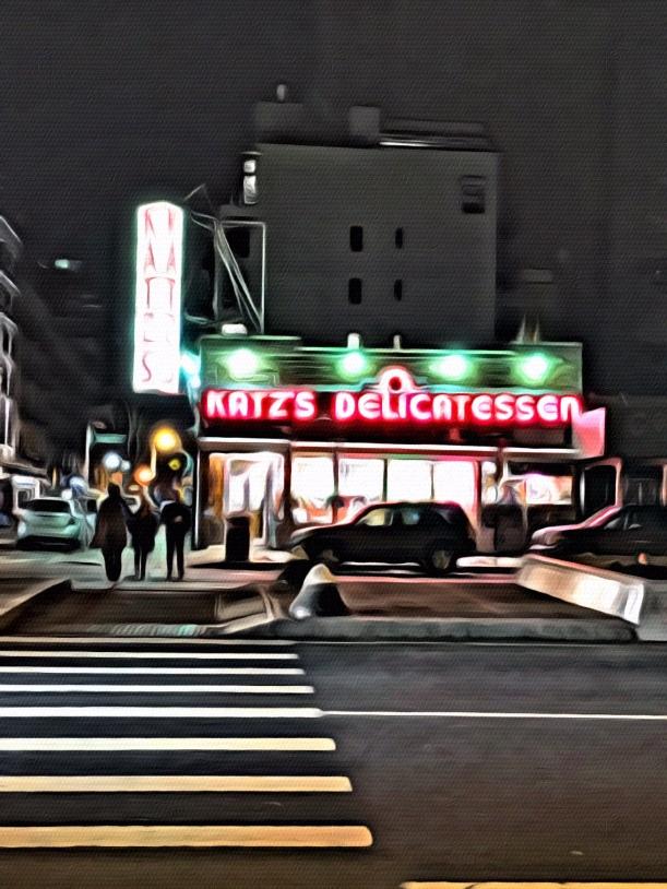 Art in New York - Katz Delicatessen by Jixi Fox