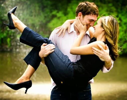 Romantic boy girl husband wife