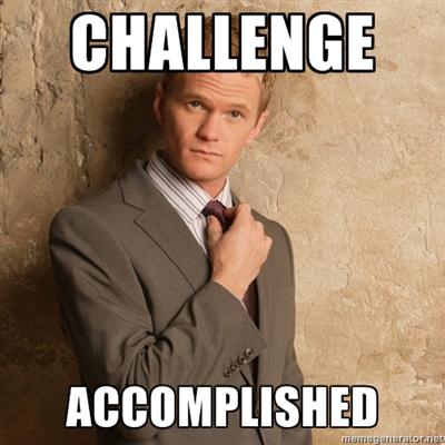 challenge-accomplished