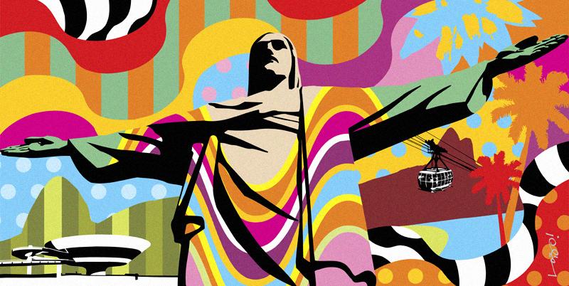 corcovado-rio-de-janeiro-lobo-pop-art