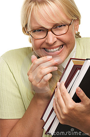 giggly-shy-student-braces-carries-books