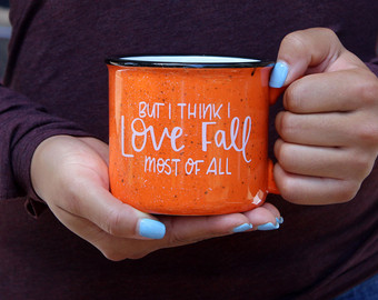 coffee hot warm fall season mug 1