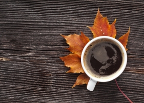 coffee hot warm fall season mug