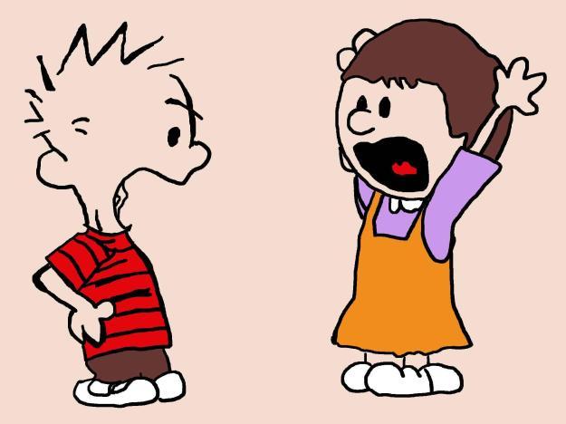 argument calvin-arguing
