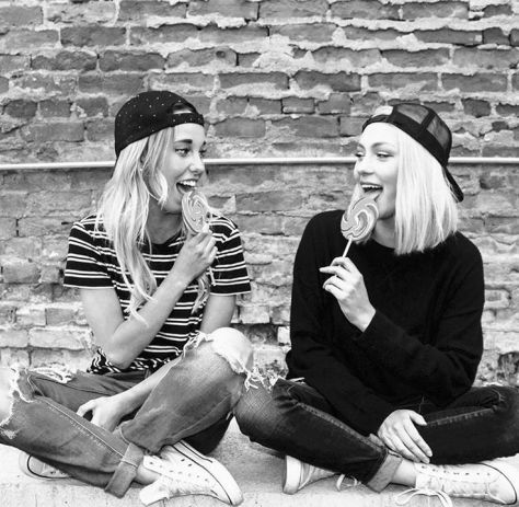 candid photos of girls in black and white