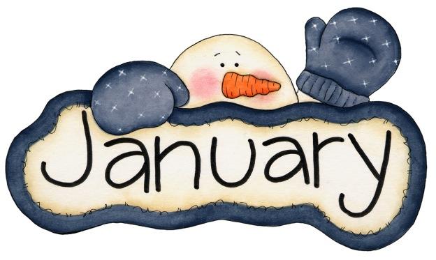 Hello January - Happy January 2018 Month