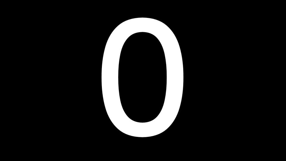 0 zero